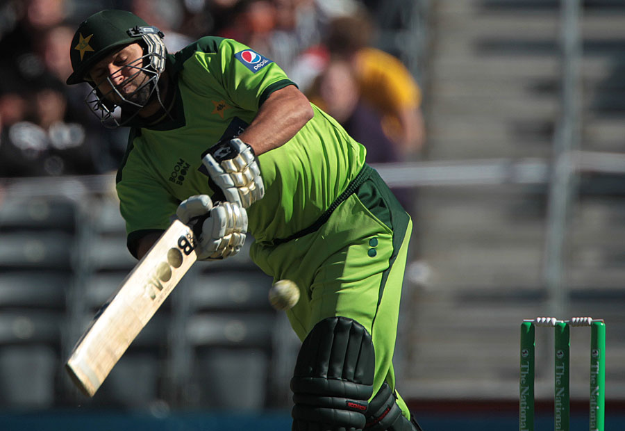 Shahid Afridi smashed a half-century off just 19 balls