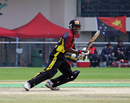 Jack Vare cuts on his way to 48, Hong Kong v Papua New Guinea, WCL Division Three Final, Kowloon, January 29, 2011