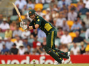 Michael Clarke clips one through leg, Australia v England, 5th ODI, Brisbane, January 30, 2011