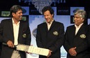 The three World Cup winning captains from the sub-continent, Mumbai, February 2, 2011