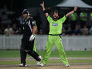 Shahid Afridi claimed the key scalp of Ross Taylor