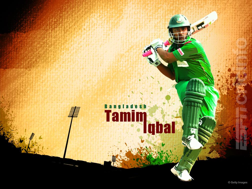 Tamim Iqbal Cricket Wallpapers Espncricinfocom