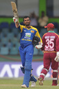 Upul Tharanga reaches his ninth ODI century, Sri Lanka v West Indies, 2nd ODI, Colombo, February 3, 2011