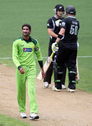 Sohail Tanvir was mauled as his eight overs went for 78 runs, New Zealand v Pakistan, 6th ODI, Auckland, February 5, 2011