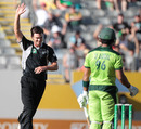 James Franklin took three wickets as New Zealand kept chipping away