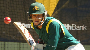Tim Paine is a picture of focus