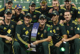 Australia won the final ODI at the WACA by 57 runs to finish 6-1 series winners