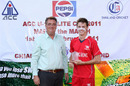 Max Tucker claimed 5-24 against Malaysia at the ACC Under-19 Elite Cup 2011