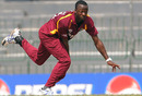 Kemar Roach took three wickets as West Indies' pace bowlers impressed, Kenya v West Indies World Cup warm-up match, R Premadasa Stadium, Colombo, February 12, 2011