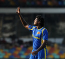 Dilhara Fernando picked up four wickets in Sri Lanka's win, Sri Lanka v Netherlands World Cup warm-up match, Colombo, February 12, 2011