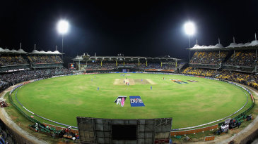 The MA Chidambaram Stadium in Chennai