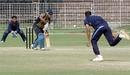 Karan Goel defends, Punjab v Services, Vijay Hazare Trophy, February 16, 2011