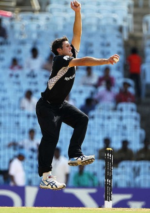 Hamish Bennett blew away the Kenyan top order, Kenya v New Zealand, Group A, World Cup 2011, Chennai, February 20, 2011