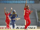 Khurram Chohan appeals against Upul Tharanga, Sri Lanka v Canada, Group A, World Cup 2011, Hambantota, February 20, 2011