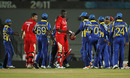 Sri Lanka and Canada's players shake hands after their match, Sri Lanka v Canada, Group A, World Cup 2011, Hambantota, February 20, 2011