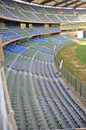 The new bucket seats at the Wankhede Stadium, Mumbai, February 20, 2011