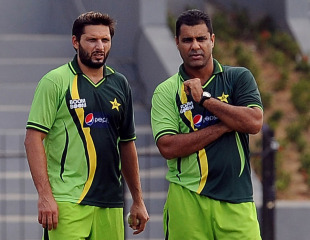 Waqar 'disappointed' with Afridi retirement