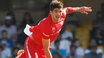 Graeme Cremer was the most economical of Zimbabwe's bowlers