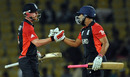 Paul Collingwood and Ravi Bopara saw a nervy England home, England v Netherlands, Group B, World Cup, Nagpur, February 22, 2011