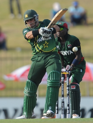Misbah-ul-Haq was fluent in his half-century, Kenya v Pakistan, World Cup, Group A, Hambantota, February 23, 2011
