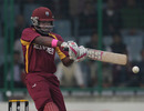 Darren Bravo reached his half-century off 55 balls