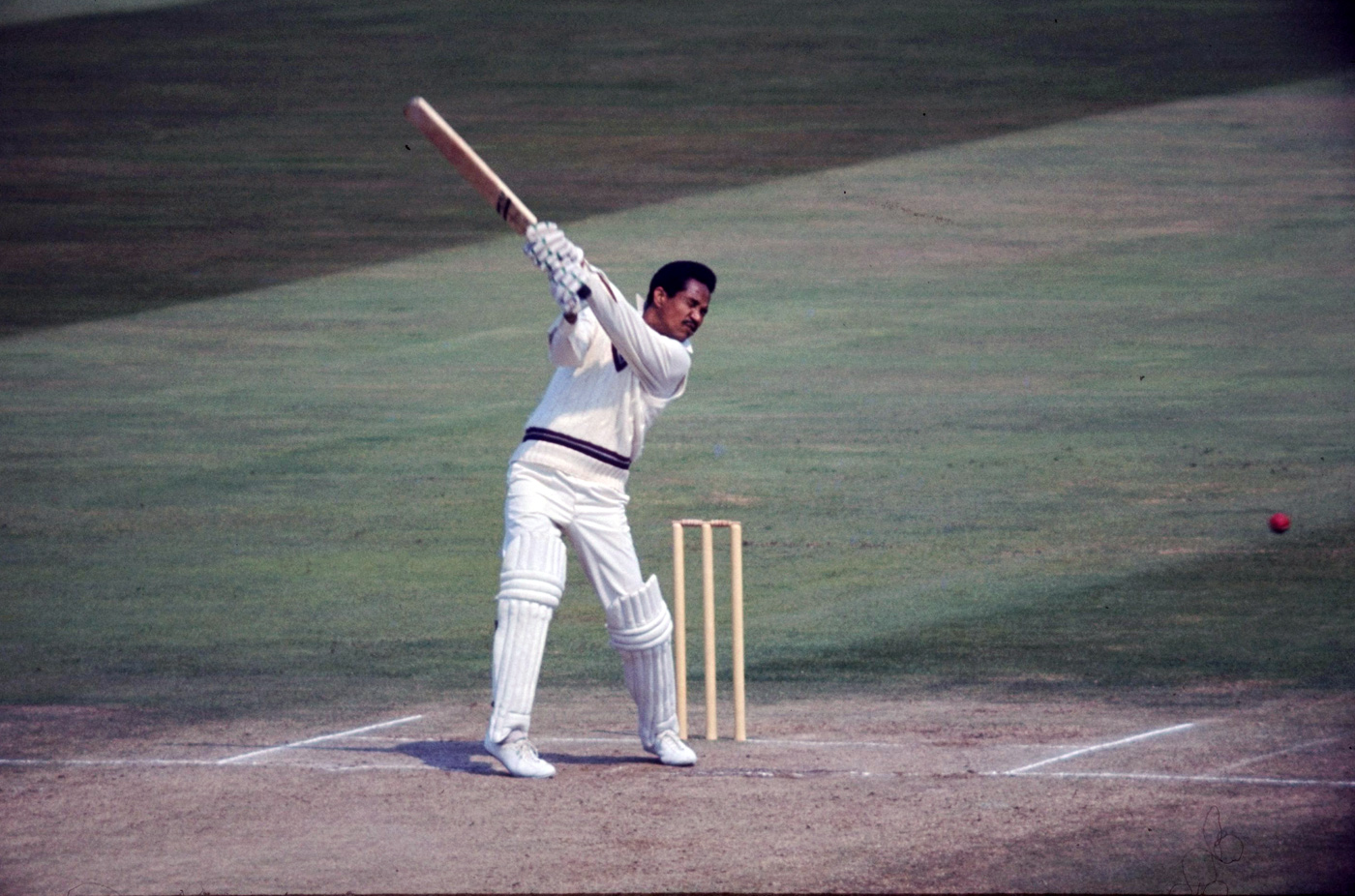 Garry Sobers hits out 1973, England v West Indies, Lord's