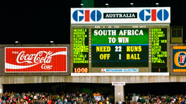 The scoreboard says it all, as South Africa's inaugural World Cup campaign comes to a bitter end