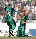 Andre Botha claimed his second scalp when he removed Shakib Al Hasan, Bangladesh v Ireland, World Cup 2011, Mirpur, February 25, 2010