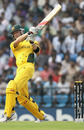 Michael Clarke plays the pull shot, Australia v New Zealand, Group A, Nagpur, February 25, 2011