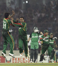 Abdur Razzak got the early wicket Bangladesh needed with Paul Stirling out stumped