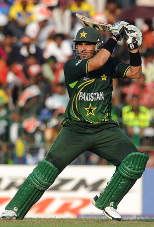 Misbah-ul-Haq helped propel Pakistan to 277, Sri Lanka v Pakistan, World Cup, Group A, Colombo, February 26, 2011