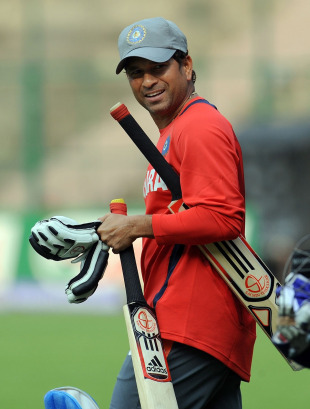 The 100th international century is not weighing heavily on Sachin Tendulkar's mind