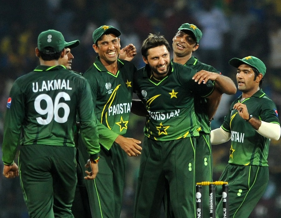 Shahid Afridi bowled a match-winning spell, Sri Lanka v Pakistan, World Cup, Group A, Colombo, February 26, 2011