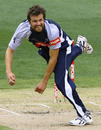 Dirk Nannes picked up three wickets