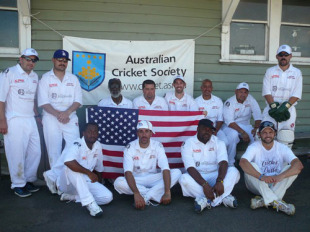 The Compton Cricket Club on its tour of Australia