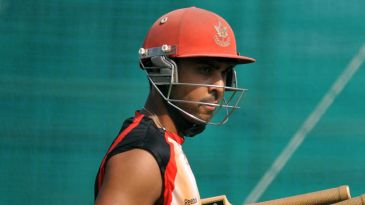Canada's captain Ashish Bagai during a training session