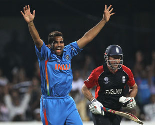 Zaheer Khan's three quick wickets provided one of the many twists in a cliffhanger between India and England in Bangalore
