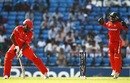 Ruvindu Gunasekera was bowled for 24, Canada v Zimbabwe, World Cup 2011, Group A, Nagpur, February 28, 2011