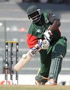 David Obuya drives down the ground during his 51, Sri Lanka v Kenya, Group A, World Cup 2011, Colombo, March 1, 2011