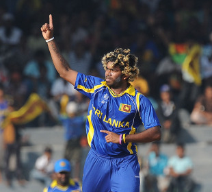 Lasith Malinga finished off Kenya with a hat-trick, Sri Lanka v Kenya, Group A, World Cup 2011, Colombo, March 1, 2011