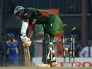 Peter Ongondo fails to keep out Lasith Malinga's yorker, Sri Lanka v Kenya, Group A, World Cup 2011, Colombo, March 1, 2011