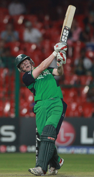 Kevin O'Brien smashed England all over Bangalore, England v Ireland, World Cup 2011, Bangalore, March 2, 2011