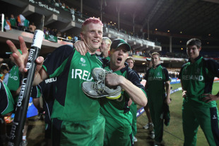 Kevin O'Brien is a new Irish hero after his stunning century overcame England, England v Ireland, World Cup 2011, Bangalore, March 2, 2011