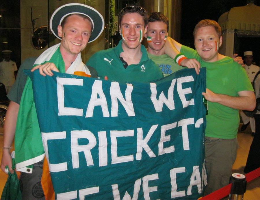 129309 - Ireland want 'meritocracy' in world cricket