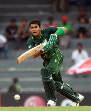 Umar Akmal top scored for Pakistan with 48, Canada v Pakistan, Group A, World Cup 2011, Colombo, March 3, 2011