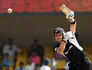 Brendon McCullum shows he can do it one-handed, New Zealand v Zimbabwe, Group A, World Cup 2011, Motera, March 4, 2011