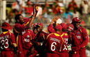 West Indies were all smiles after routing Bangladesh for 58 in 18.5 overs, Bangladesh v West Indies, Group B, World Cup 2011, Mirpur, March 4, 2011