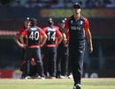 Kevin Pietersen walks away from his team-mates, England v South Africa, Group B, World Cup, Chennai, March 6, 2011