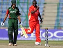 Henry Osinde bowled Seren Waters, Canada v Kenya, Group A, World Cup, Delhi, March 7, 2011