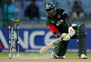 Thomas Odoyo is bowled by a Harvir Baidwan yorker, Canada v Kenya, Group A, World Cup, Delhi, March 7, 2011